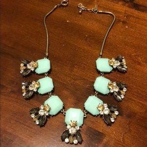 Jewel mint necklace